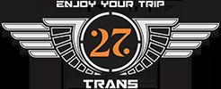 Sewa Bus Pariwisata di Malang – 27Trans Malang, Indonesia Logo